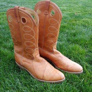 ACMR Western Buckaroo Cowboy Boots Pull Up 14